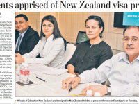NZSA Press Conference, Chandigarh